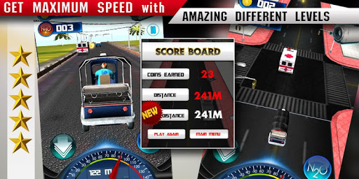 Tuk Tuk 3D - Crazy Taxi Racer