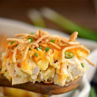 Hawaiian Chicken and Rice Casserole.