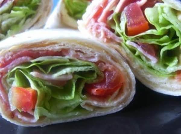 Homemade Burrito Blt Wraps