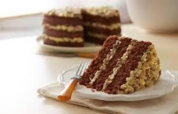 Delicious 3 Layer German Chocolate Cake