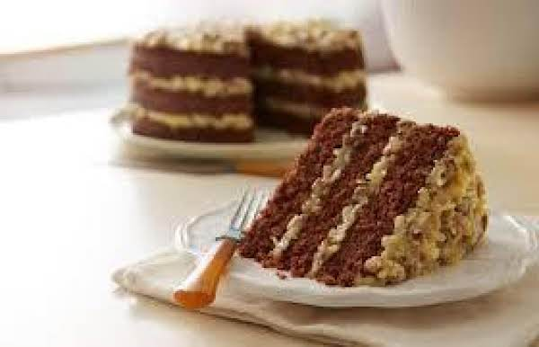 Delicious 3 Layer German Chocolate Cake Recipe