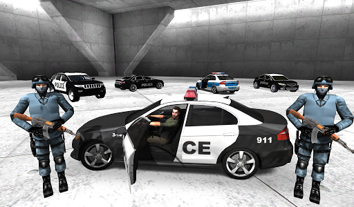 Police Car Racer 3D 11 screenshots 2