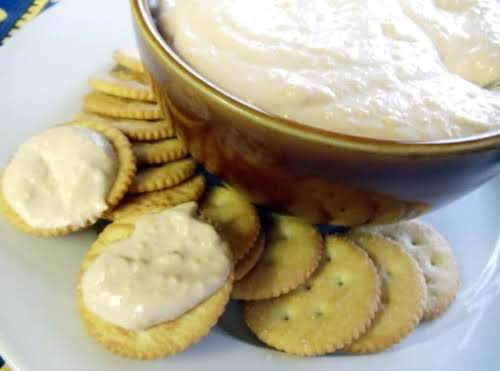 """Horseradish Cheddar Pub Cheese """"Took me longer to remember how to assemble..."""