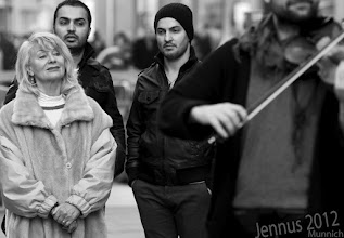 Photo: Streetmusic with Konnexion Balkon in Munich