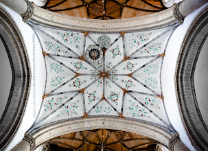 Photo: St. Bavo's ceiling in Haarlem, Holland