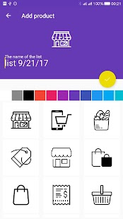 Fast Shopping List - náhled