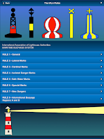 Screenshot of IALA Buoyage & Lights at Sea