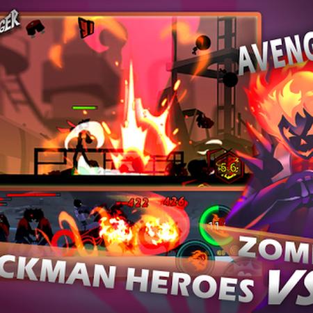 Zombie Avengers:Stickman War Z v2.1.1 (Mod) Apk Mod + Data