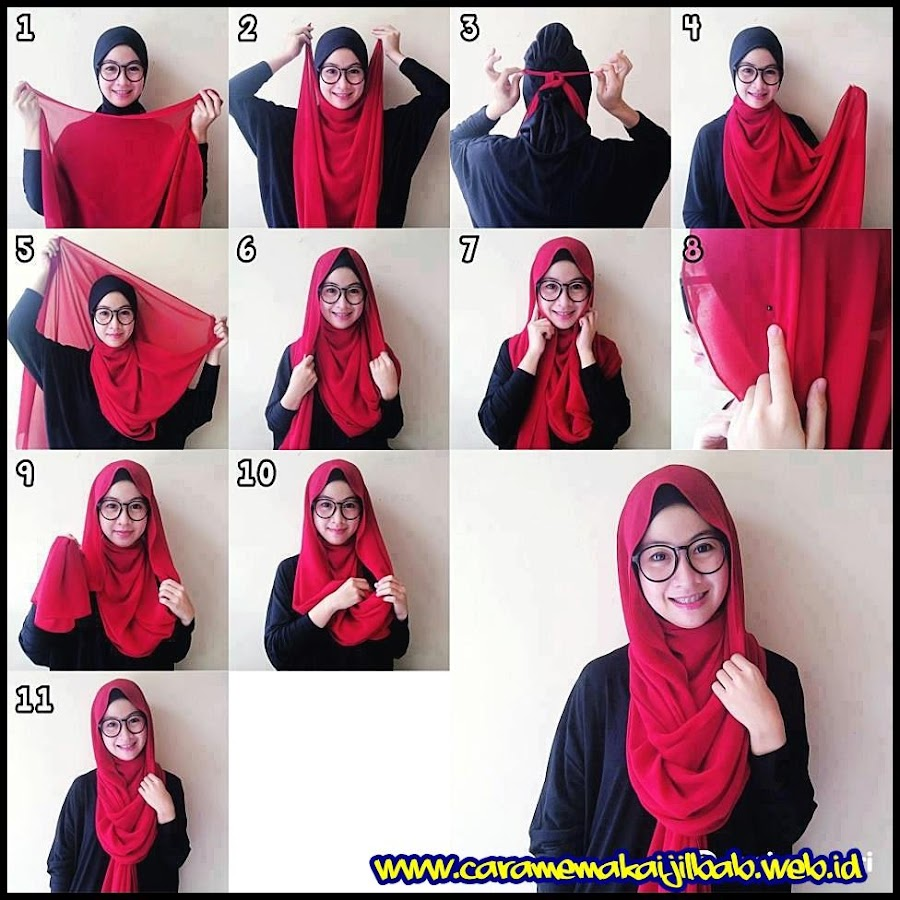 Tutorial Hijab Segi Empat Apl Android Di Google Play