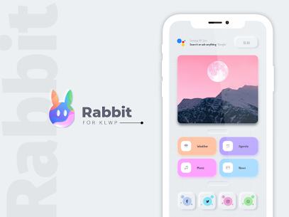 Rabbit KLWP Presets Paid 2.0 Latest Mod APK Free Download 3