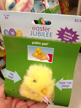 """Photo: We love these palm pets! When our son was much younger, he had one of these and when it stopped """"chirping"""" we were sure to buy him another one the following Easter. He loved it so much, and would act like it was a real bird."""