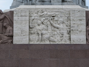 Photo: Freedom monument - celebrating the war of independence, 1918-1920