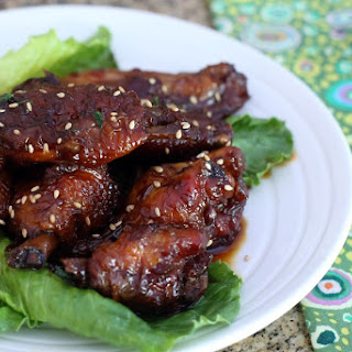 Slow Cooker Teriyaki Chicken Wings.