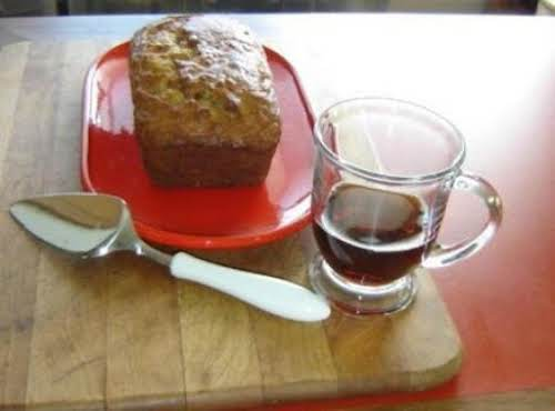 "Sour Cream Banana Bread""During football tonight. I made this yummy banana nut..."