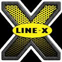 Line X icon