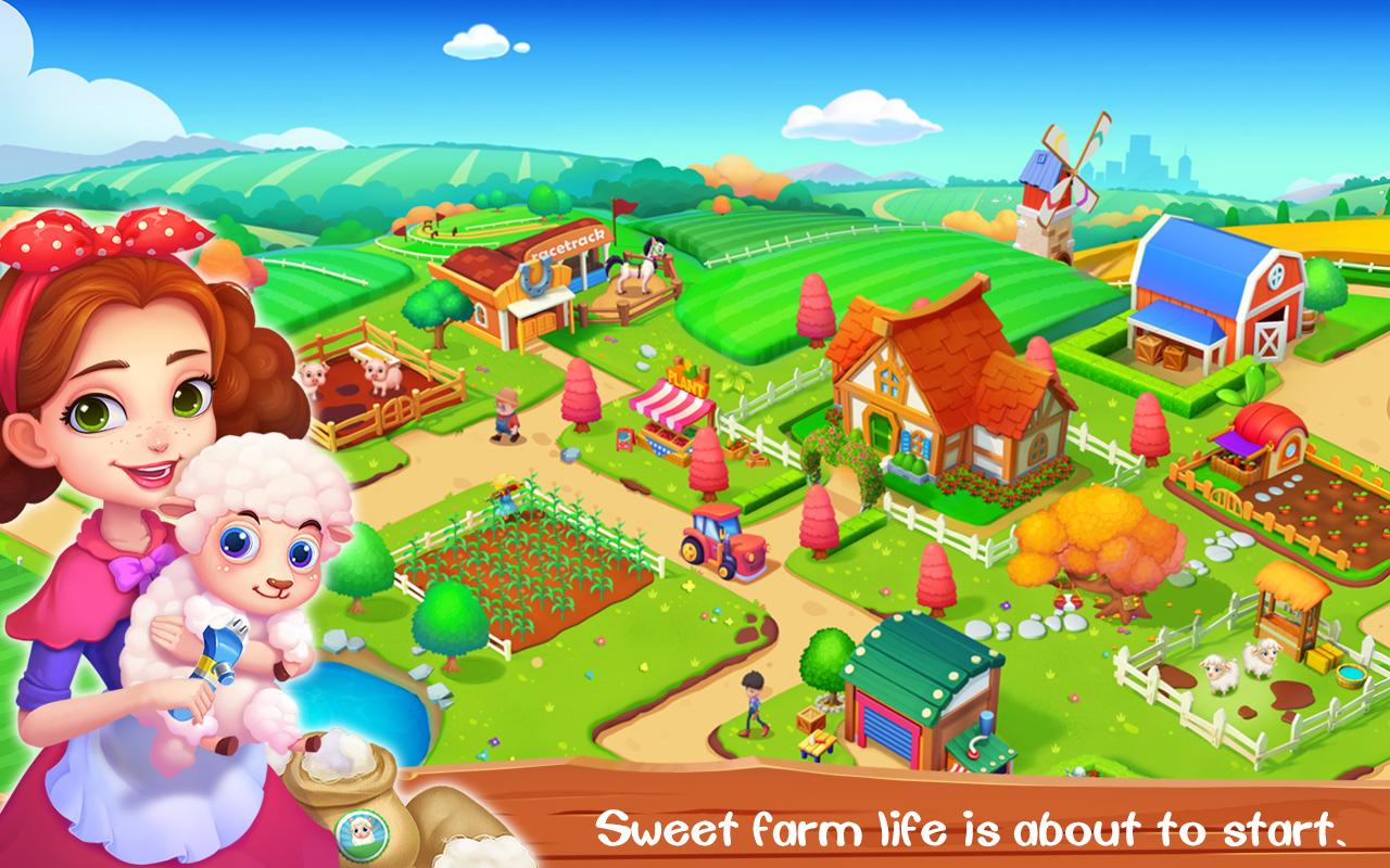 My Sweet Farm Apl Android Di Google Play
