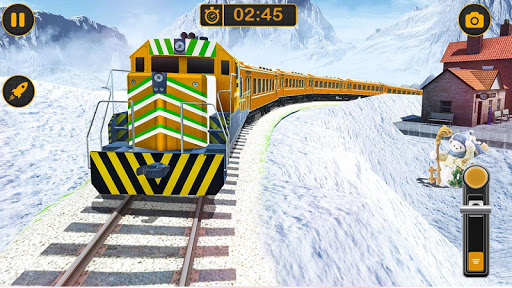 Modern Pak vs Indian Train Race: Azadi Train Game 1.0 screenshots 11