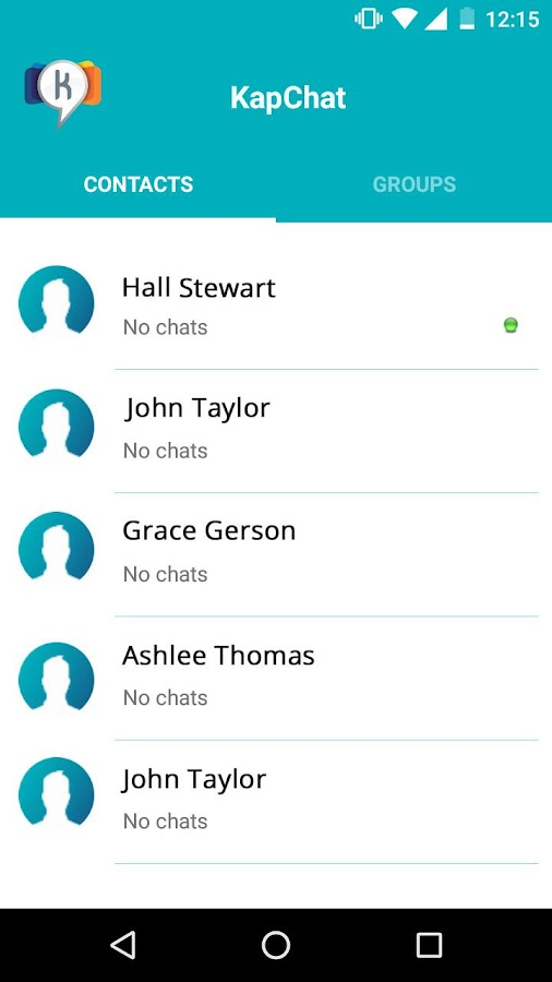 Kapchat- screenshot