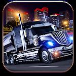 Oil Tanker Truck Transporter: Mack Truck Driver Icon