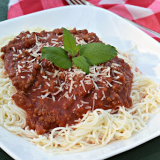 Quick and Simple Spaghetti Sauce (lower carb than store bought).