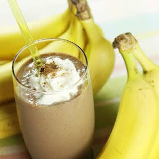 Chocolate Banana Smoothie.