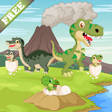 Dinosaurs game for Toddlers icon