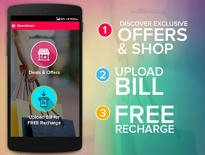 StreetSmart-Deals&FreeRecharge- screenshot thumbnail