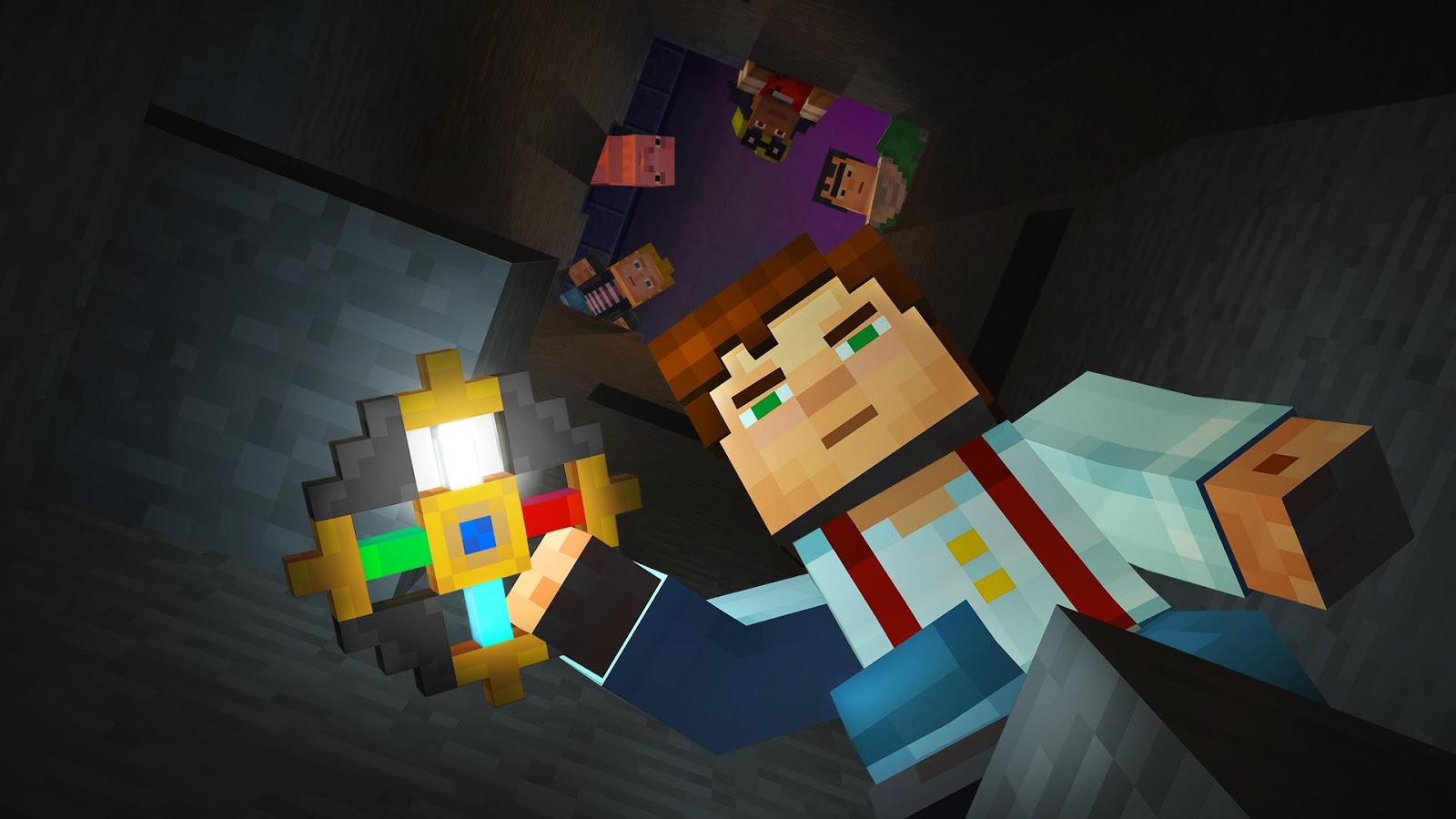Screenshots of Minecraft: Story Mode for Android