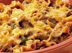 Beef Noodle Bake Recipe