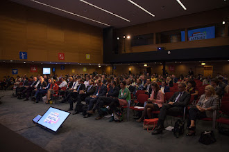 Photo: Startup Europe Forum opening at ICT2015