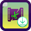 Video Downloader and Editor icon