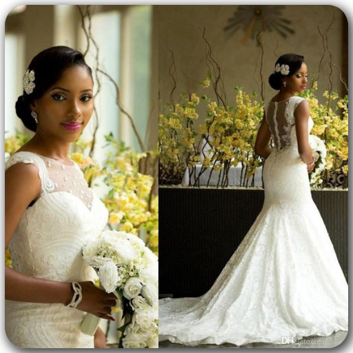 African Wedding Dress (app)