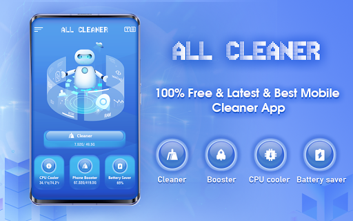 All Cleaner - 100% Free & Best Cleaner & Booster