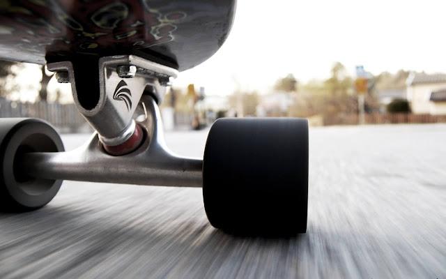 Skateboarding - New Tab in HD
