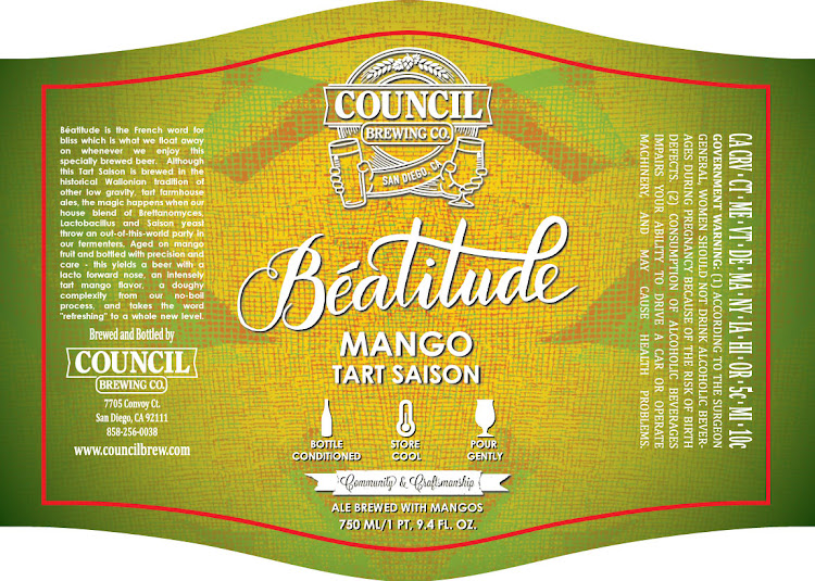 Logo of Council Beatitude Mango Tart Saison
