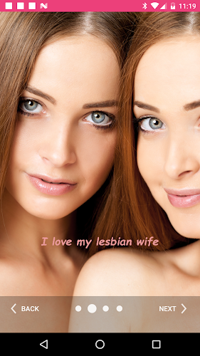 Lesbian Video Chat And Dating Android App Screenshot