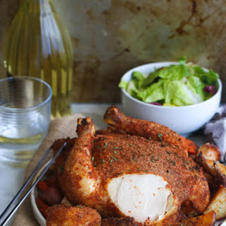 Cajun Whole Roast chicken