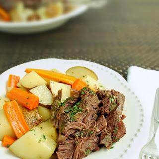 Best Slow Cooker Pot Roast.