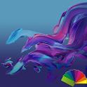 Delight Blue XZ Theme Xperia icon