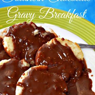 Chocolate Gravy & Biscuit Breakfast-Video