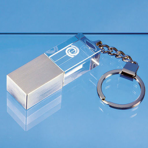 3D Crystal USB Drives