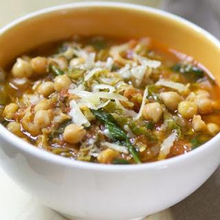 Bowl of Garbanzo Bean Stew