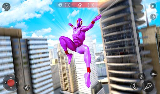 Amazing Spider Crime Hero: Gangster Rope Hero Game 3 screenshots 7