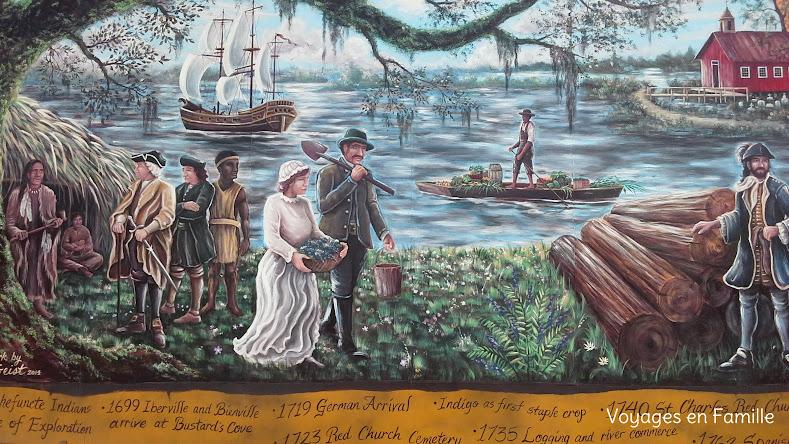 St charles'parish mural