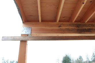 Photo: Under the flat roof