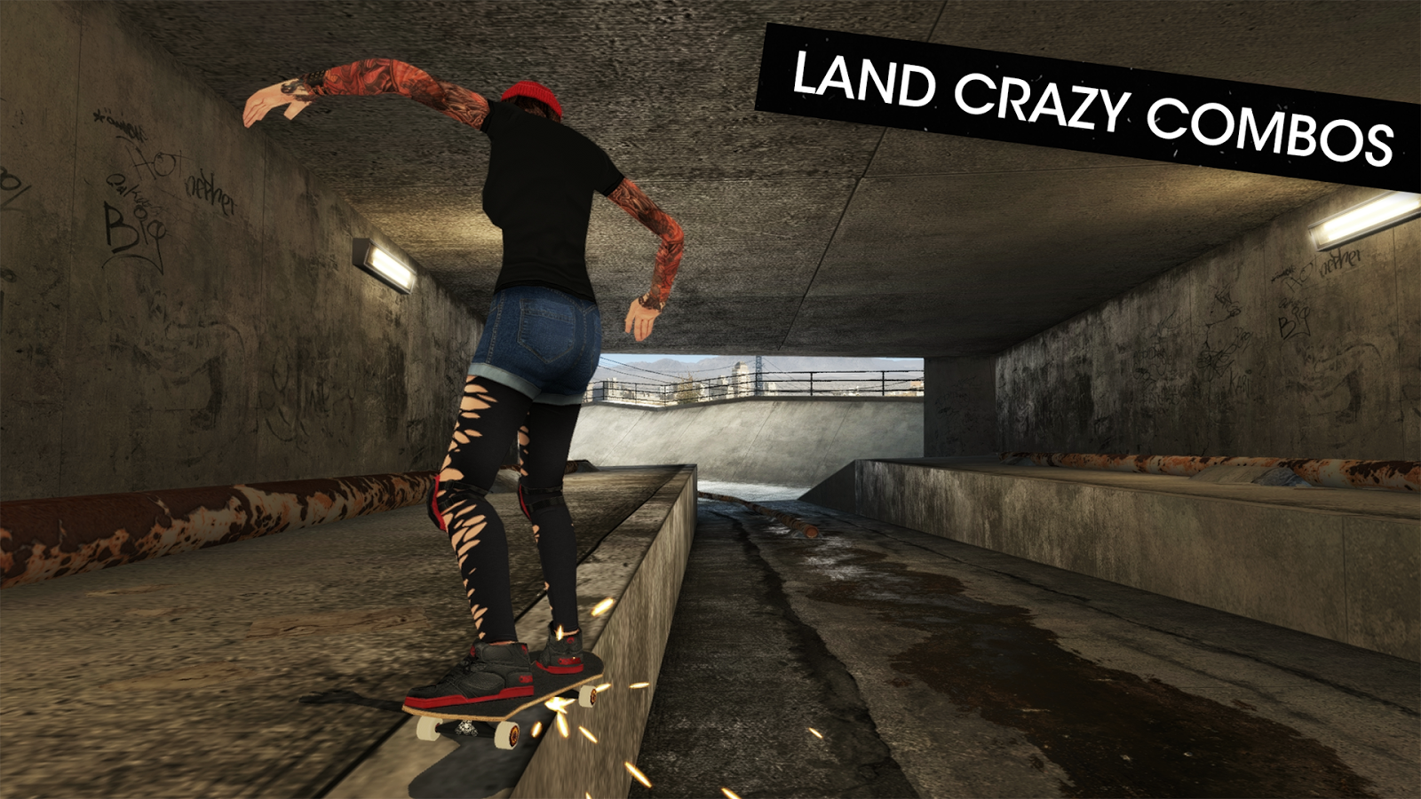 Skateboard Party 3- screenshot