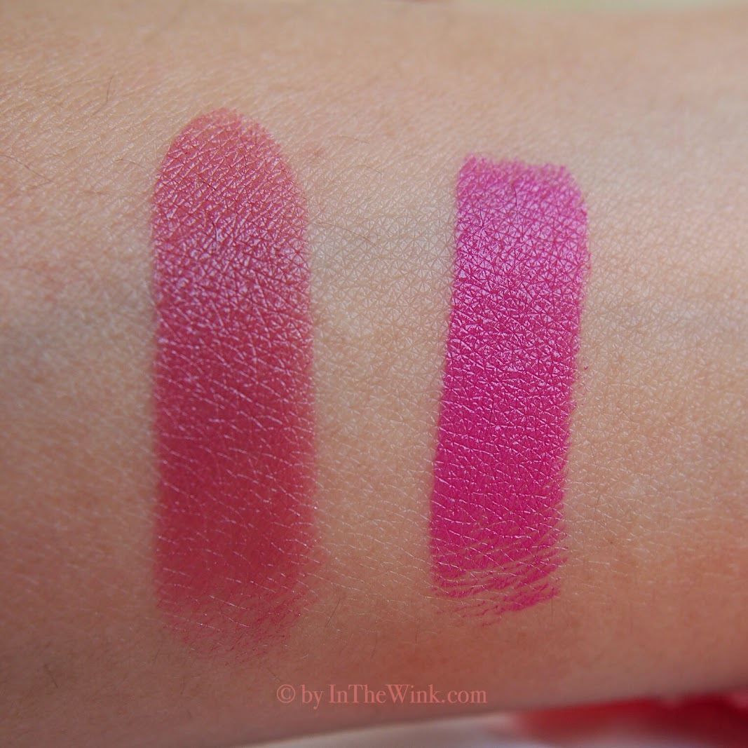 YSL Rouge Pur Couture No.9 and 19