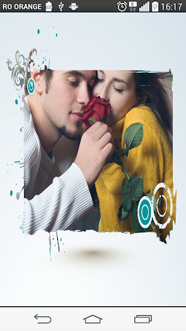 android Blue label Photo Frames Screenshot 6