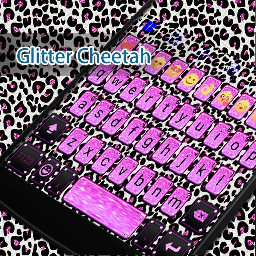 Glitter Cheetah Eva Keyboard 遊戲 App LOGO-硬是要APP