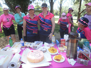 Photo: Jan's 60th and Narelle's 40th birthday morning tea, Springbank Island 27 November 2010 - images attached